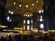 Sophia van de gebouwenhagia van Istanboel Stock Foto's