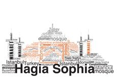 Sophia van Hagia Stock Illustratie