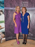 Sophia Weir, Carlton SPA and Mary Kennedy, RTE Royalty Free Stock Images