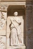 Sophia, Wisdom Statue in Ephesus Ancient City Stock Photos