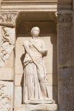 Sophia, Wisdom Statue in Ephesus Ancient City Stock Photos