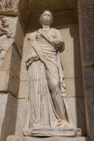 Sophia, Wisdom Statue in Ephesus Ancient City. In Izmir, Turkey stock photo