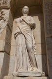 Sophia, Wisdom Statue in Ephesus Ancient City Stock Photo