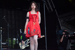 Sophie Ellis Bexter live at the Westport Festival Stock Photography