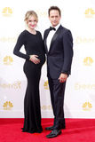 Sophie Flack and Josh Charles. At the 66th Annual Primetime Emmy Awards held at the Nokia Theatre L.A. Live in Los Angeles on August 25, 2014 in Los Angeles Royalty Free Stock Photography