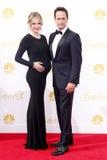 Sophie Flack och Josh Charles Royaltyfri Fotografi