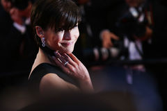 Sophie Marceau. Attends the premiere of 'The Sea Of Trees' during the 68th annual Cannes Film Festival on May 16, 2015 in Cannes, France stock images