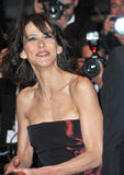 Sophie Marceau. CANNES, FRANCE - MAY 20, 2014: Sophie Marceau at the gala premiere of Coming Home at the 67th Festival de Cannes Stock Images