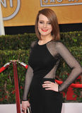 Sophie McShera. LOS ANGELES, CA - JANUARY 18, 2014: Sophie McShera at the 20th Annual Screen Actors Guild Awards at the Shrine Auditorium Stock Images