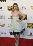 Sophie Nelisse. LOS ANGELES, CA - JANUARY 16, 2014: Sophie Nelisse at the 19th Annual Critics' Choice Awards at The Barker Hangar, Santa Monica Airport Royalty Free Stock Photos