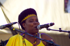 Sophie Nzayisenga Performing Stock Photo