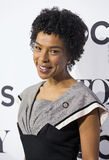 Sophie Okonedo. Tony winner and Oscar nominee Sophie Okonedo, a self-described, Jewish-British actress of Nigerian descent, arrives for the 70th Annual Tony Stock Photos