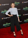 Sophie Reynolds. At the Los Angeles premiere of 'Zootopia' held at the El Capitan Theater in Hollywood, USA on February 17, 2016 royalty free stock images