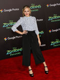 Sophie Reynolds. At the Los Angeles premiere of 'Zootopia' held at the El Capitan Theater in Hollywood, USA on February 17, 2016 Royalty Free Stock Image