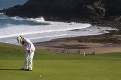 Sophie Sandolo (ITA) Dinard golf cup 2011 Royalty Free Stock Photo