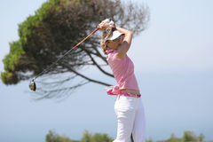 Sophie Sandolo, Portugal ladies Open 2006, Oitavos Stock Image