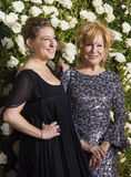 Sophie von Haselberg and Bette Midler. `Hello, Dolly! star Bette Midler, arrives on the red carpet with daughter, actress Sophie von Haselberg, at the 71st Royalty Free Stock Photography