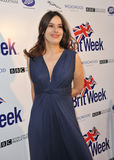 Sophie Winkleman. LOS ANGELES, CA - APRIL 23, 2013: Sophie Winkleman at the launch party for BritWeek 2013 at the residence of the British Consul General in Los royalty free stock photo