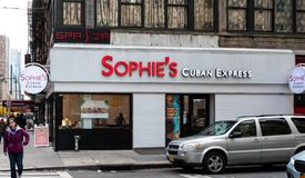 Sophies Cuban Restaurant royalty free stock photography