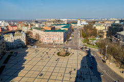 Sophievskaya Square.  Square named after St. Sophia Royalty Free Stock Photography