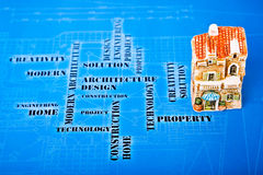 Sophisticated architectural idea Royalty Free Stock Photo
