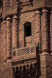 Minaret detail in Azhar Mosque Royalty Free Stock Images