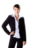 Sophisticated executive. Confident beautiful female business executive Royalty Free Stock Photography