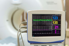 Sophisticated of MRI Scanner medical equipments in hospital.  royalty free stock photo