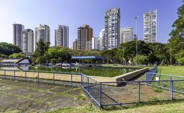 Sophisticated residencial buildings in Sao Paulo, Brazil.  Stock Image