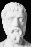 Sophocles (496 BC - 406 BC) was an ancient Greek tragedians. Of the classical era. White marble bust of him Stock Photo