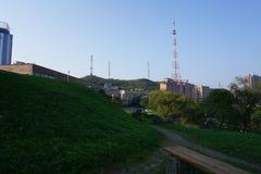 Sopka Vladivostok Primorye Rusia Fotografía de archivo libre de regalías