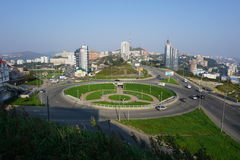 Sopka Vladivostok Primorye Rusia Foto de archivo libre de regalías