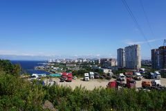 Sopka Vladivostok. Primorye. Russia. Stock Photos