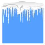 sopla śnieg ilustracja wektor