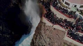 Sopladura del la Bufadora, atracción famosa Ensenada almacen de video