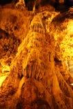 Soplena Ballica jama w Tokat, Turcja zdjęcia stock