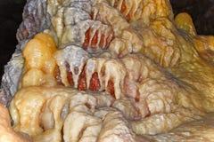 Soplenowie i stalagmity Obraz Royalty Free