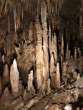 Soplenowie i stalagmity Gyokusendo jama w Japonia zdjęcie royalty free