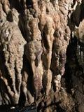 Soplenowie i stalagmity Gyokusendo jama w Japonia fotografia royalty free
