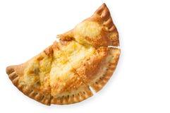 Soplo de la pizza Imagen de archivo libre de regalías
