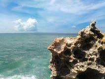 Soplo del agua, Bali Fotografía de archivo libre de regalías