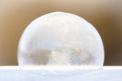 Soplo del hielo foto de archivo libre de regalías