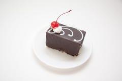 Soplo en chocolate oscuro fotografía de archivo