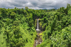 Sopoaga-Wasserfälle, Samoa Stockbild