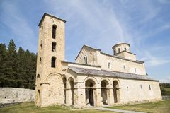 Sopocani monaster zdjęcie stock
