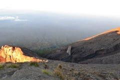 Soporte Agung Gunung en Bali, Indonesia Imagenes de archivo