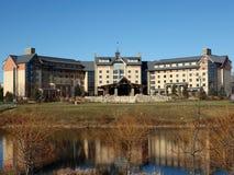 Soporte Airy Resort Hotel y casino foto de archivo