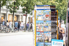 Soporte alemán de la postal Imágenes de archivo libres de regalías