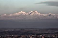Soporte Aragats Imagen de archivo