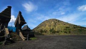 Soporte Bromo en Indonesia Foto de archivo libre de regalías